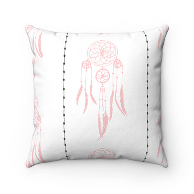 Catch A Dream Spun Polyester Square Pillow Case - Design Prints