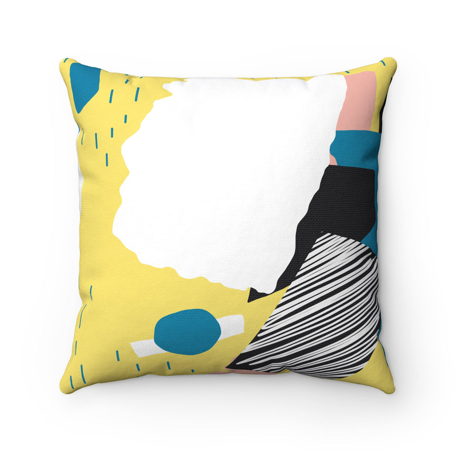 Tumble Down Spun Polyester Square Pillow Case - Design Prints