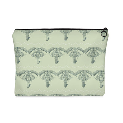 Boho Elephant Carry All Pouch - Design Prints