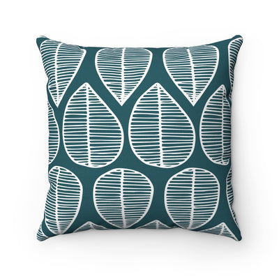 Nature's Tears Square Pillow - Design Prints