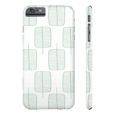 Calm Trees Phone Cases - Design Prints