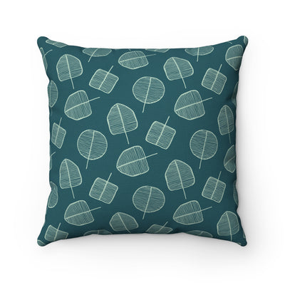 Forest Pops Spun Polyester Square Pillow Case - Design Prints