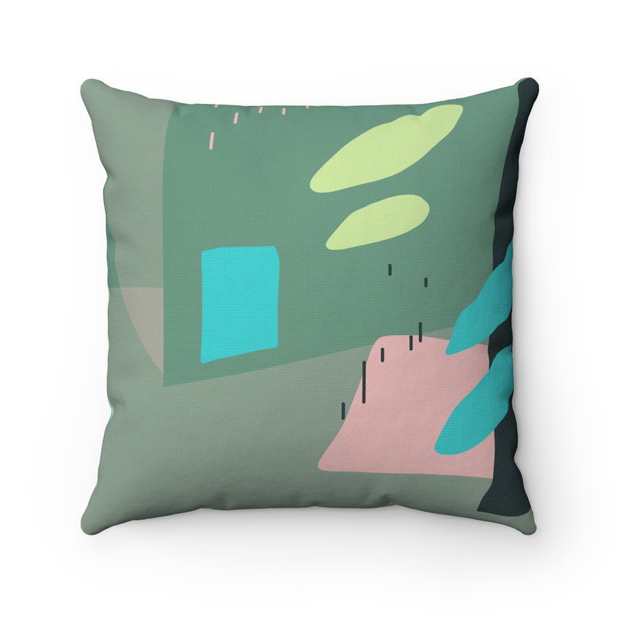 Under The Sea Spun Polyester Square Pillow Case