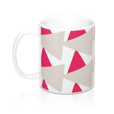 Overlapping Trigon Mug