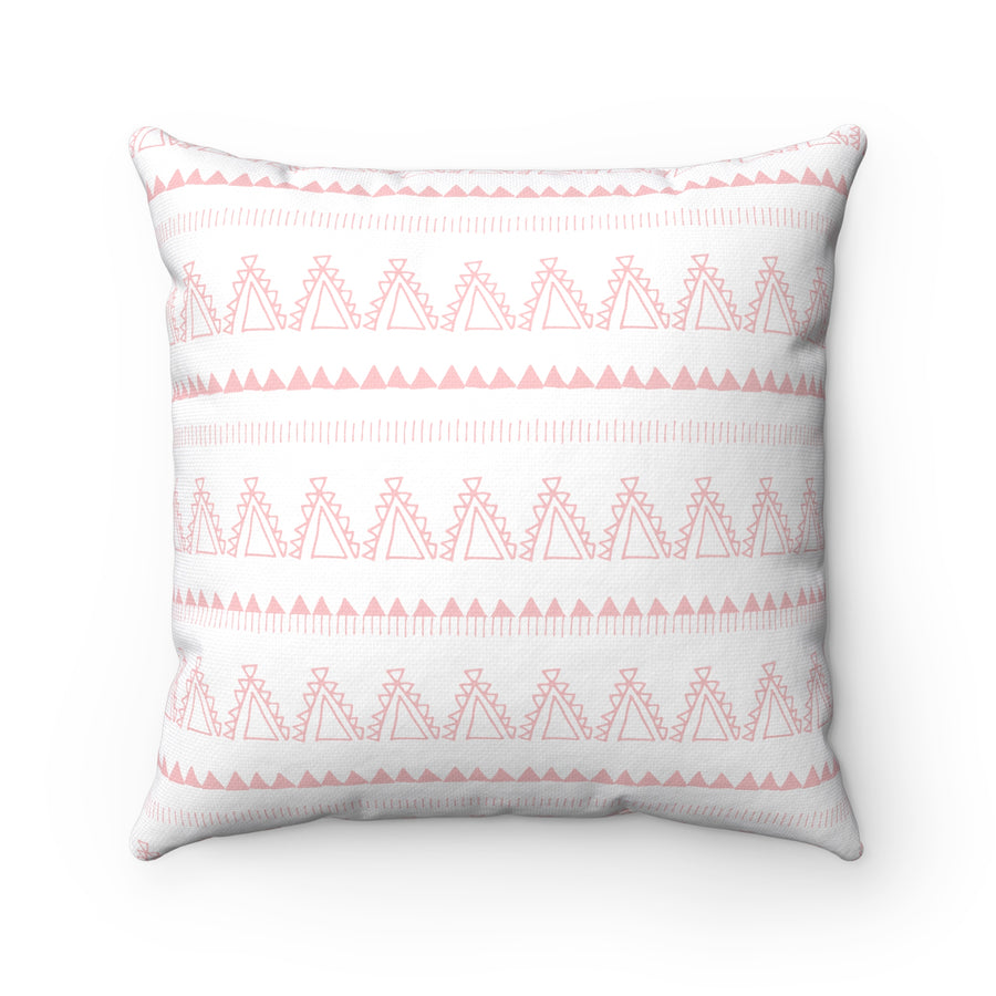 Whimsical Tent Square Pillow