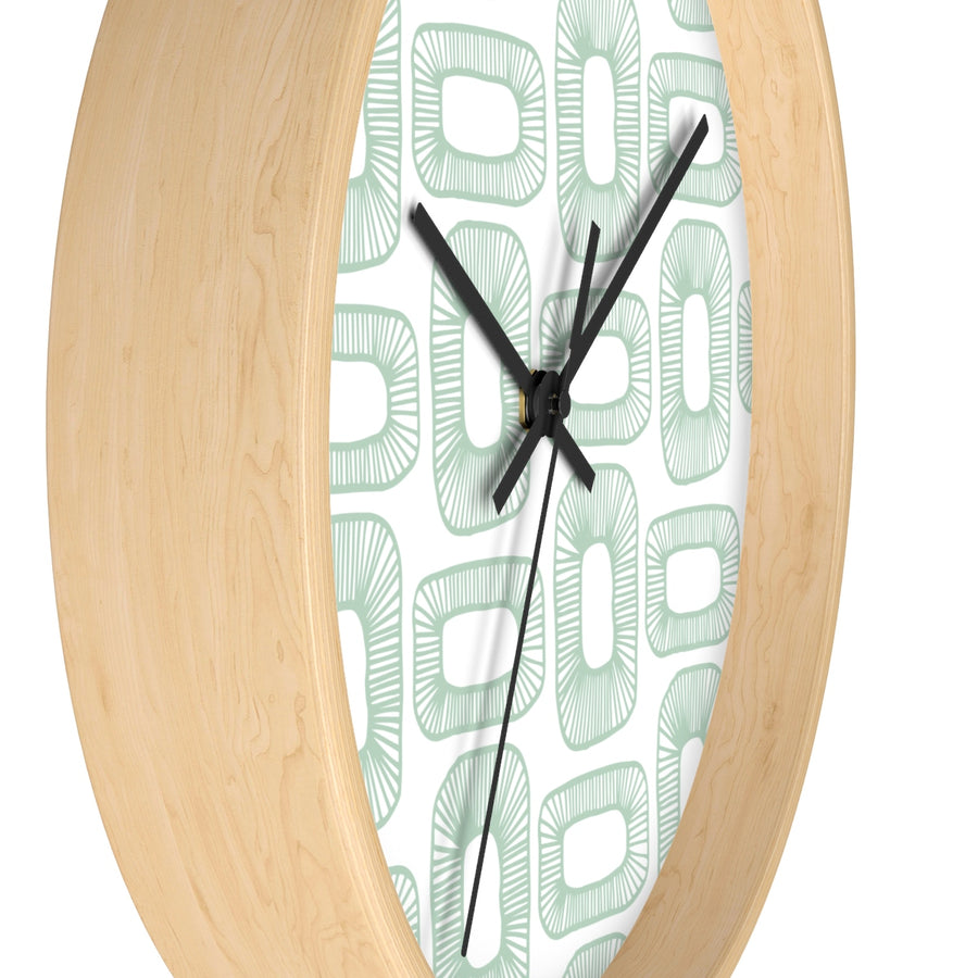 Plant Cells Wall clock