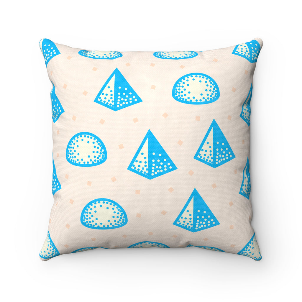 Pop Shapes Square Pillow