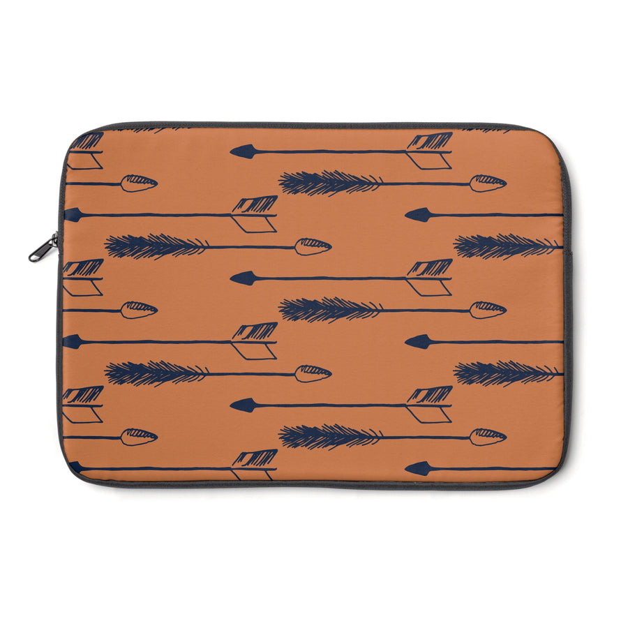 Tawny Arrows Laptop Sleeve