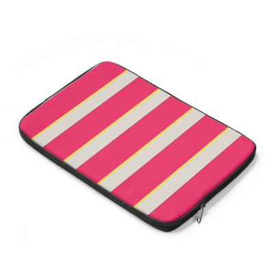 Candy Stripes Laptop Sleeve
