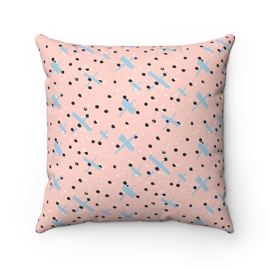 Multiply Spun Polyester Square Pillow Case