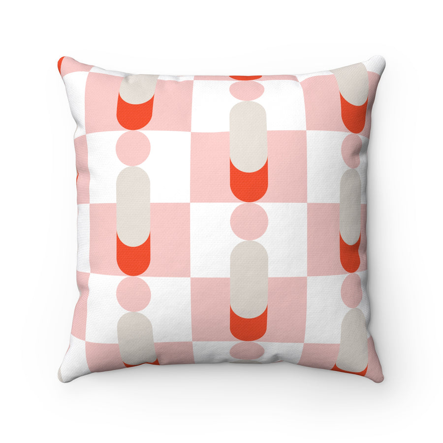 Pawns Spun Polyester Square Pillow Case