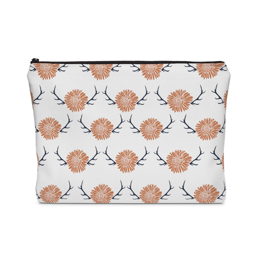 Floral Antler Carry All Pouch