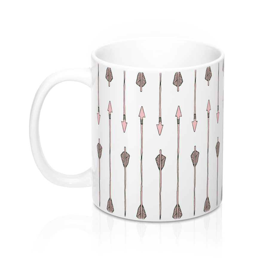 Arrow My Heart Too Mug