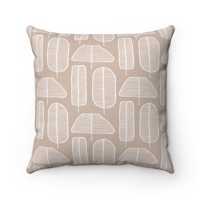 Funky Forest Square Pillow - Design Prints