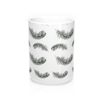 Fluttering Feather Mug - Design Prints