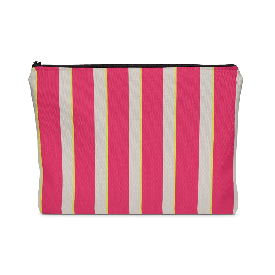 Candy Stripes Carry All Pouch