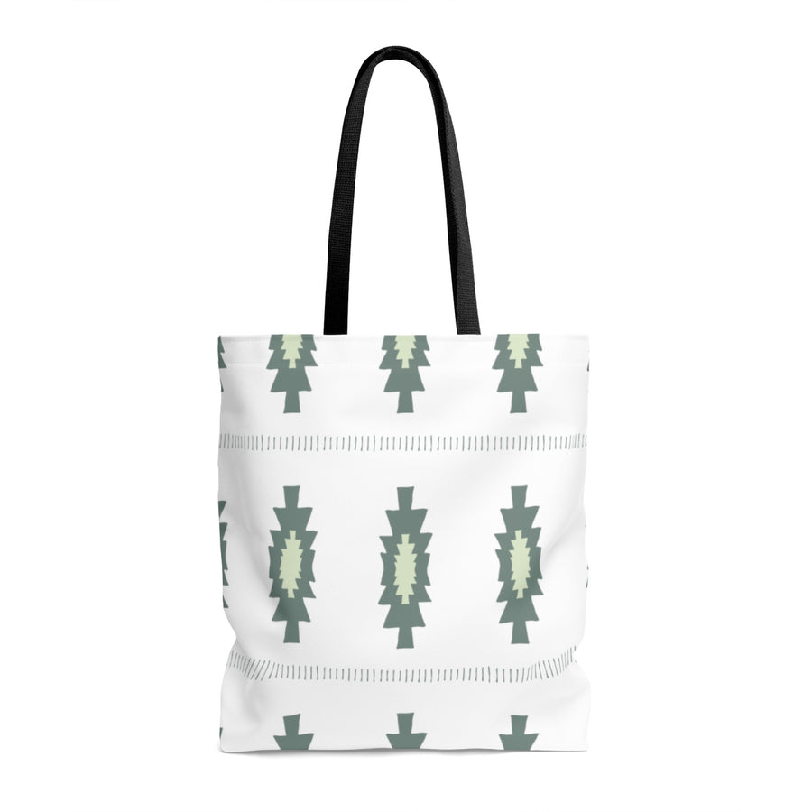 Pickle Pattern AOP Tote Bag