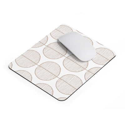 Rounded Trees Mousepad - Design Prints