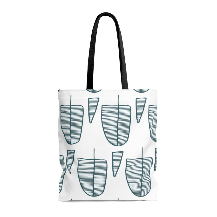 Squoval Trees AOP Tote Bag