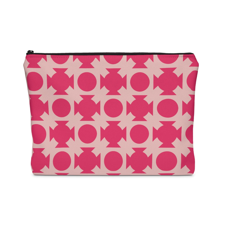 Pink Crossing Carry All Pouch - Design Prints