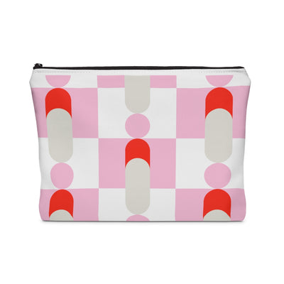 Pink Pawns Carry All Pouch - Design Prints