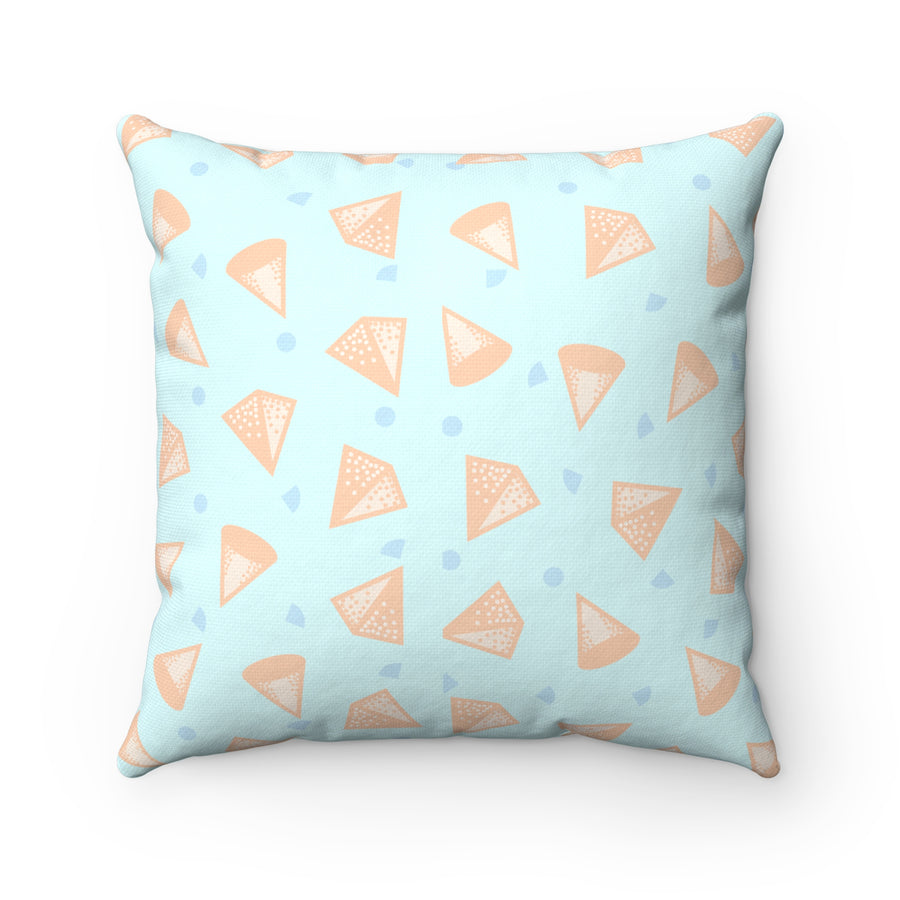 Pop Cones Spun Polyester Square Pillow Case