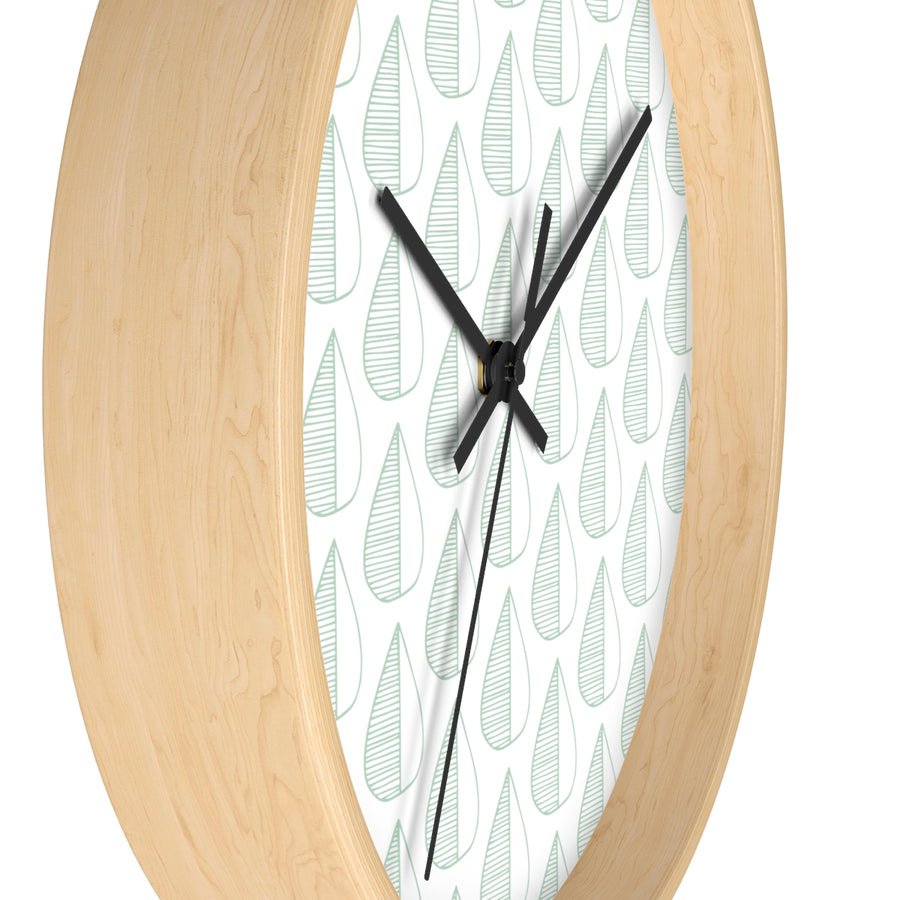 Halfling Tears Wall clock