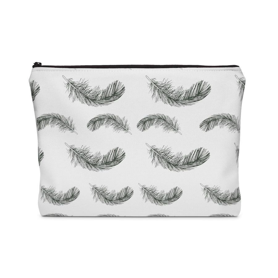 Fluttering Feather Carry All Pouch