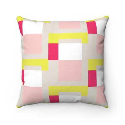 Magnetised Spun Polyester Square Pillow Case
