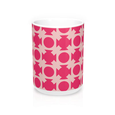 Pink Crossing Mug - Design Prints