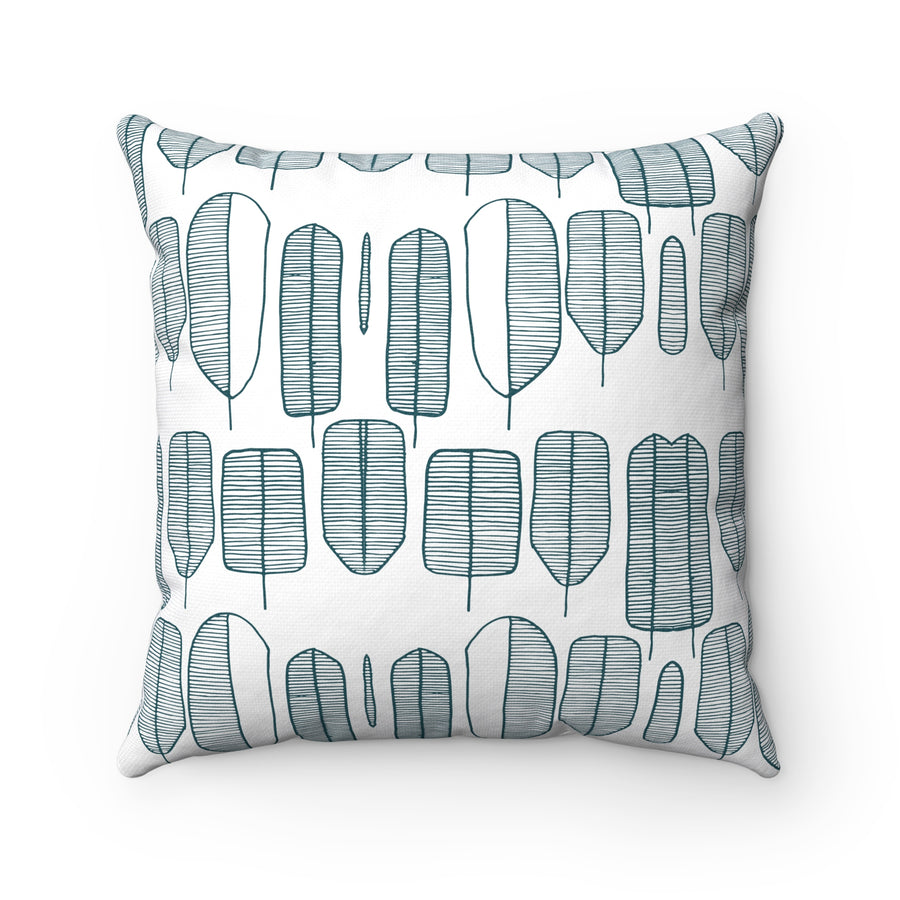 Tree Collection Square Pillow