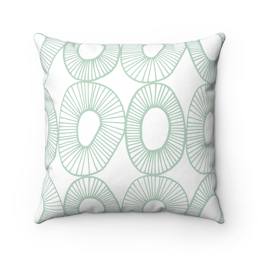 Just Like Kiwi Spun Polyester Square Pillow Case