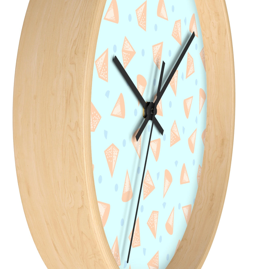 Pop Cones Wall clock