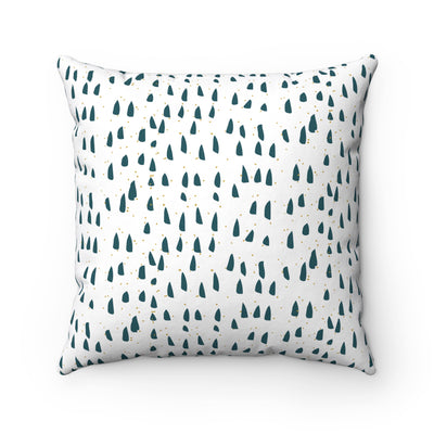 Forest View Square Pillow - Design Prints