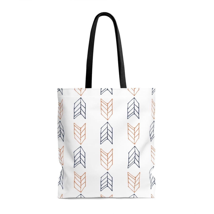 Up Down Arrows AOP Tote Bag