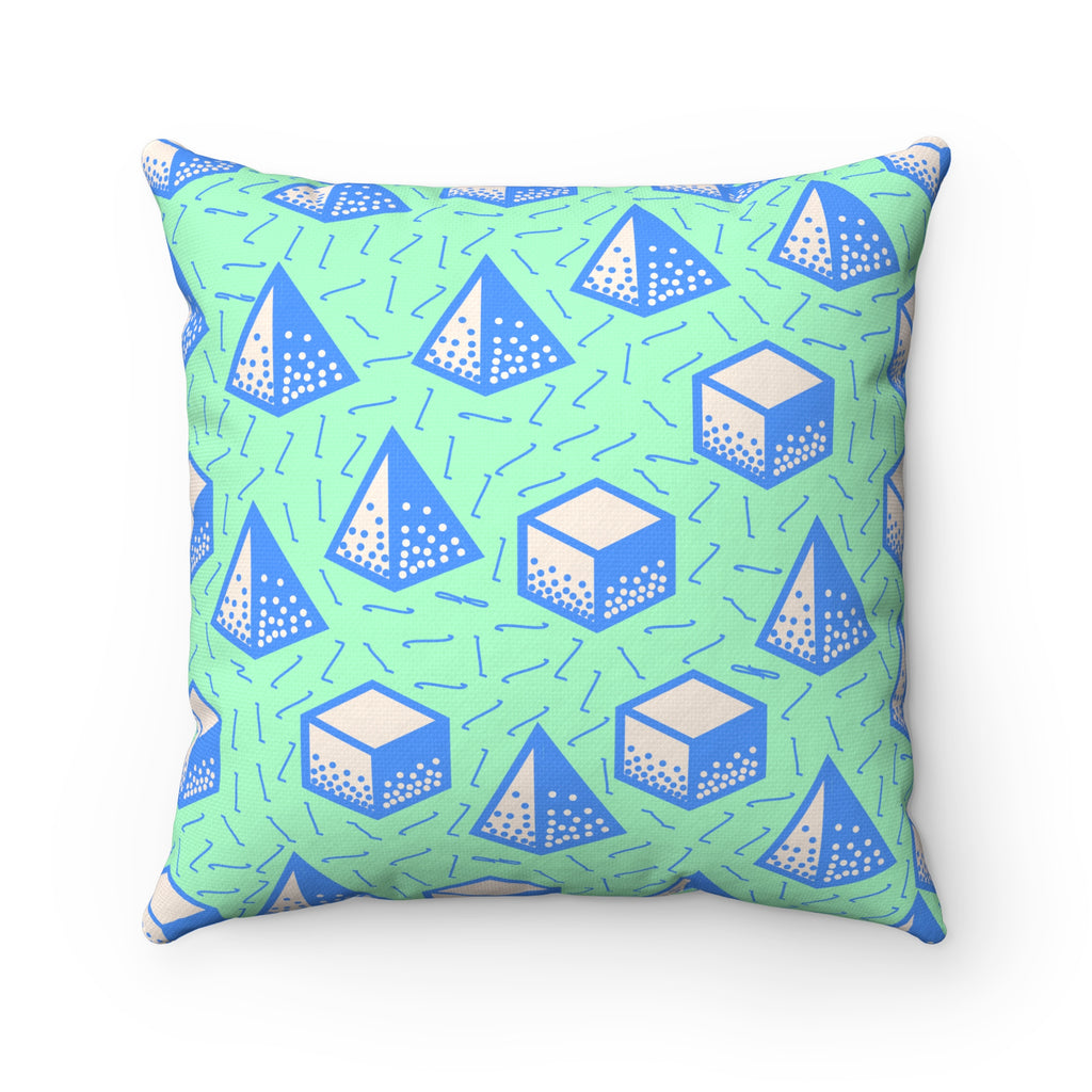Electro Pop Square Pillow