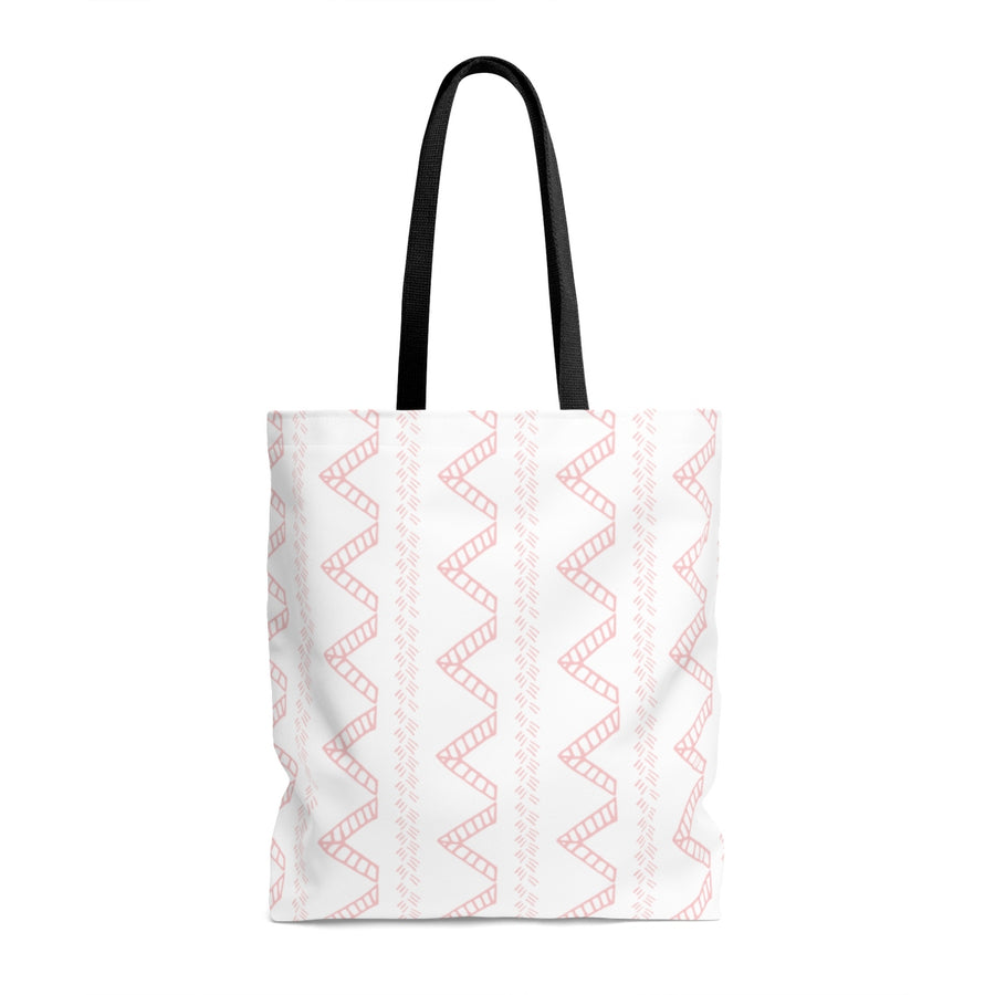 Blush Tent AOP Tote Bag