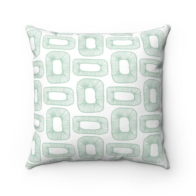 Plant Cells Spun Polyester Square Pillow Case