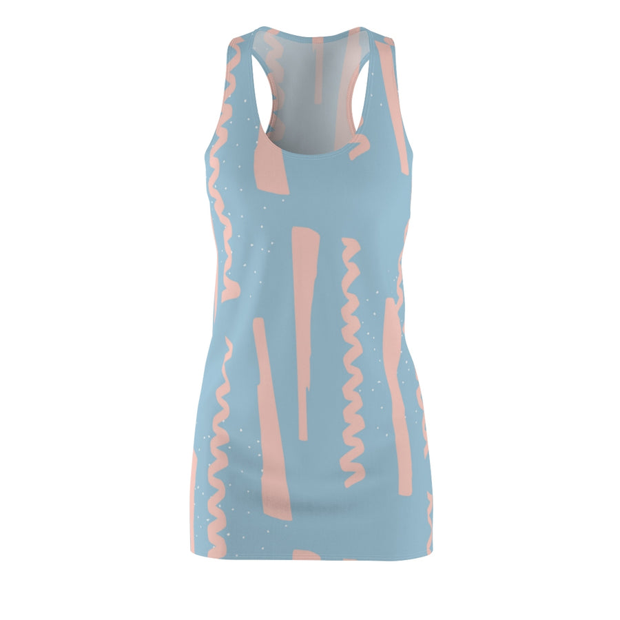 Party Poppers Racerback Dress - Design Prints