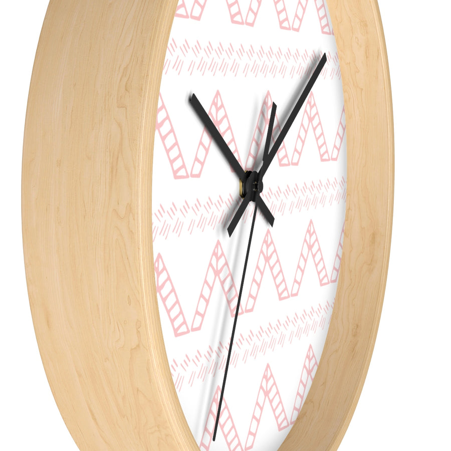 Blush Tent Wall clock