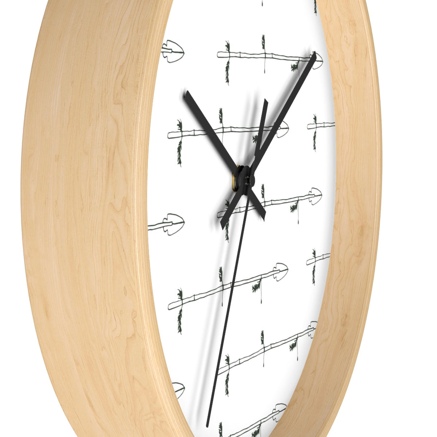 Arrow My Heart Wall clock