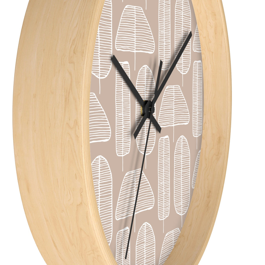 Funky Forest Wall clock
