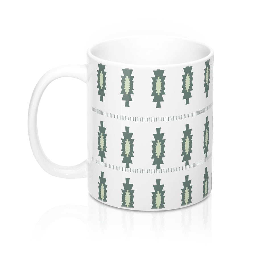 Pickle Pattern Mug