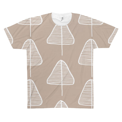 Calm Cone Trees Tee - Design Prints