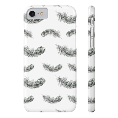 Fluttering Feather Phone Cases - Design Prints