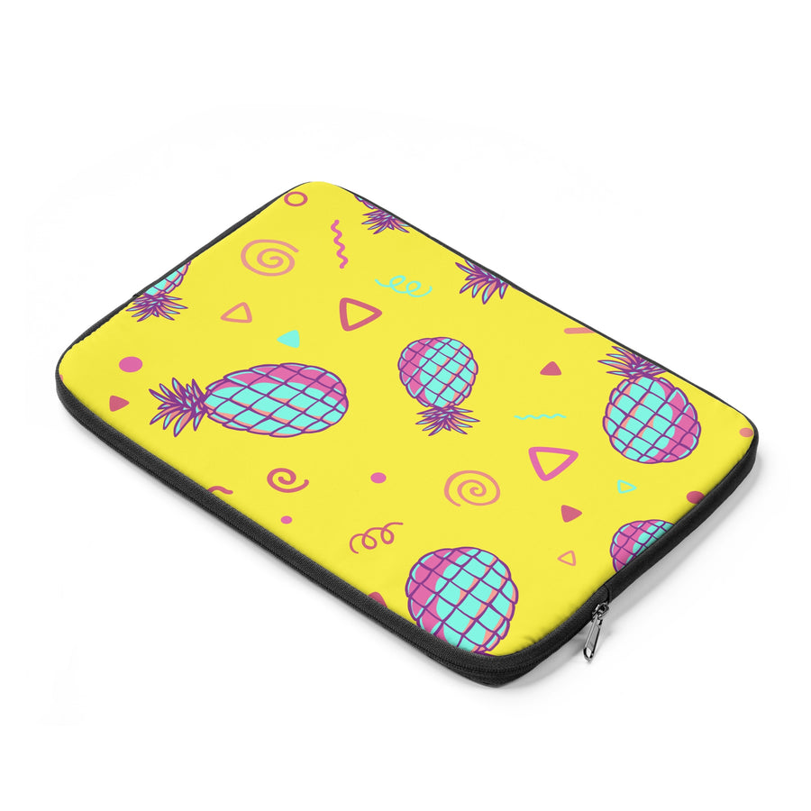 Retro Pineapples Laptop Sleeve