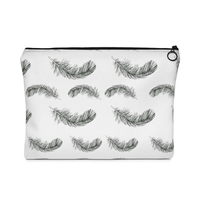 Fluttering Feather Carry All Pouch - Design Prints