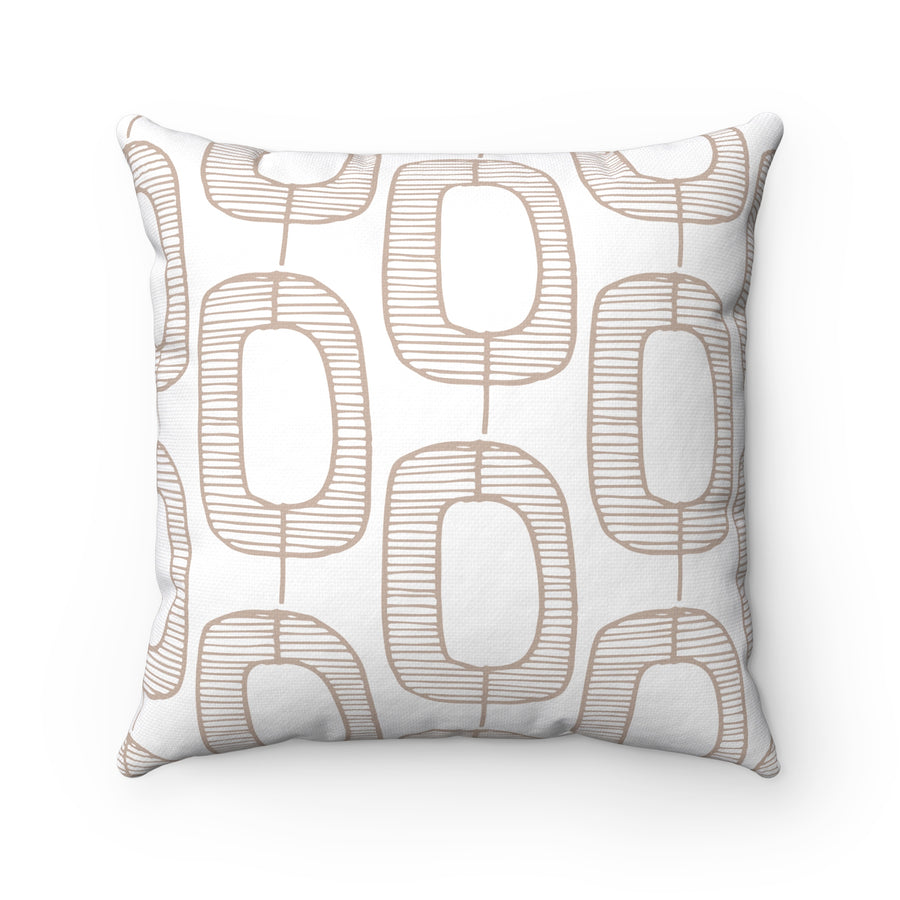 Hollowed Trees Square Pillow