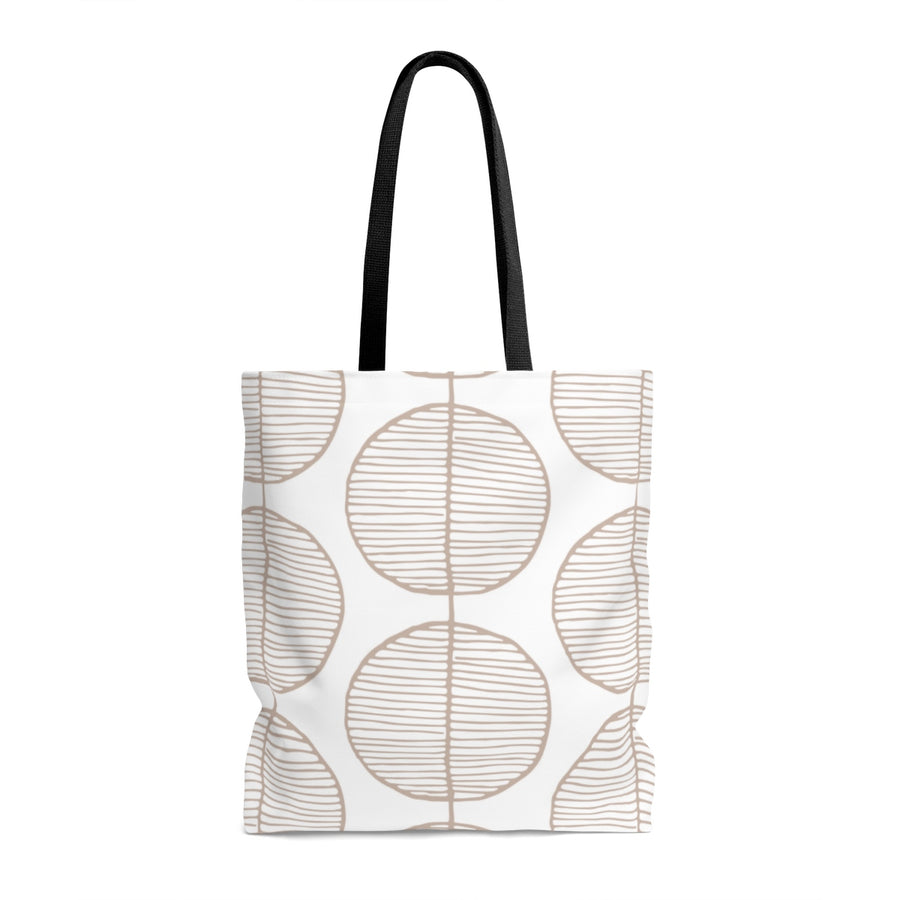 Rounded Trees AOP Tote Bag
