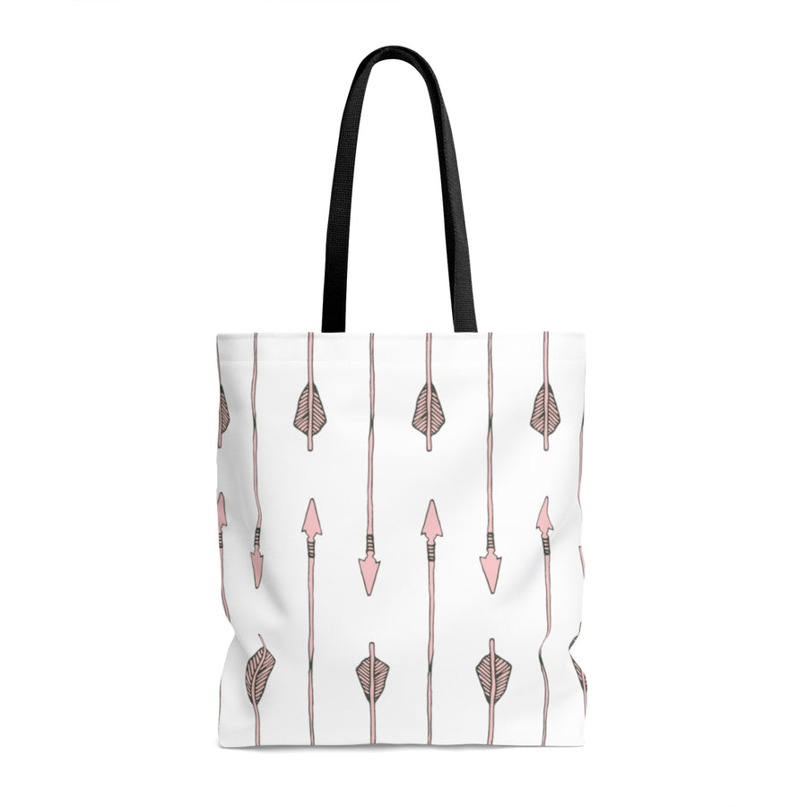 Arrow My Heart Too AOP Tote Bag